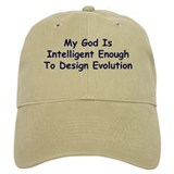 """My God Is Intelligent"" Baseball Cap"