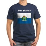 San Marino Flag T-Shirt