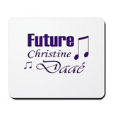 Future Christine Daae Mousepad