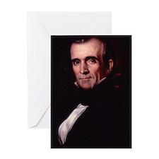 James Polk Greeting Card