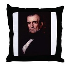 James Polk Throw Pillow