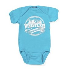Whistler Old Circle White 2.png Baby Bodysuit