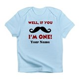 1st Birthday Mustache Infant T-Shirt