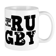 'Playing Rugby' Mug