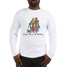 Eighth Day of Christmas Long Sleeve T-Shirt