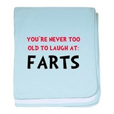 Laugh Farts baby blanket