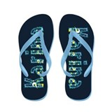Karina Under Sea Flip Flops