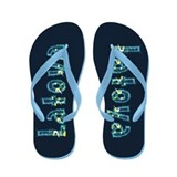 Latoya Under Sea Flip Flops