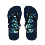 Noah Under Sea Flip Flops
