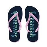 Savannah Under Sea Flip Flops