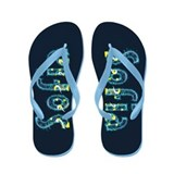 Sofia Under Sea Flip Flops