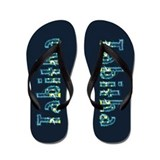 Tabitha Under Sea Flip Flops