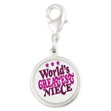 Worlds Greatest Niece Charms