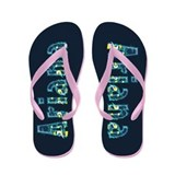Ariana Under Sea Flip Flops