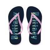Brittney Under Sea Flip Flops
