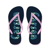 Carson Under Sea Flip Flops