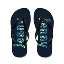 Jenny Under Sea Flip Flops