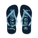 Jerome Under Sea Flip Flops