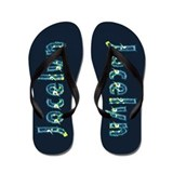 Jocelyn Under Sea Flip Flops