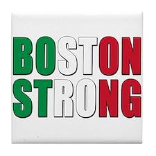 Italian Boston Pride Tile Coaster