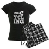 'Rather Be Cycling' pajamas