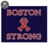 Boston Strong Ribbon Puzzle