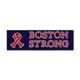 Boston Strong Ribbon Car Magnet 10 x 3