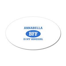 Annabella is my home girl bff designs 20x12 Oval W
