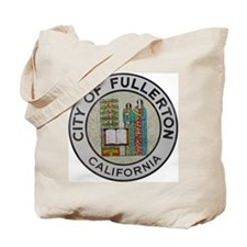 City of Fullerton, California Tote Bag