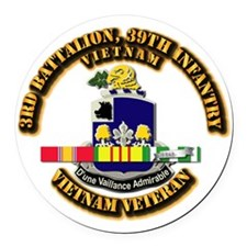 Army - 3rd Battalion, 39th Infantry w SVC Ribbons