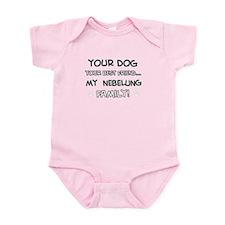 Nebelung Cat designs Infant Bodysuit