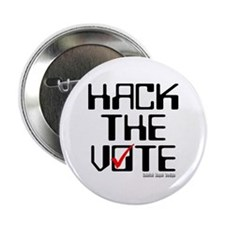 "Hack the Vote 2.25"" Button (10 pack)"