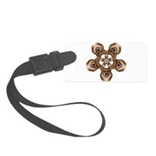 Geo Mercy Flower 5 Luggage Tag