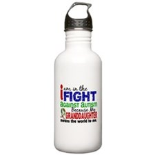 In The Fight 2 Autism Water Bottle