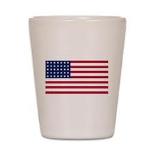US - 35 Stars Flag Shot Glass