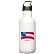 US - 50 Stars Flag Water Bottle