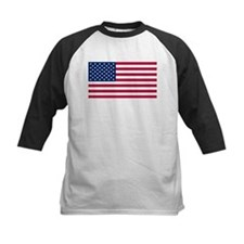 US - 50 Stars Flag Baseball Jersey