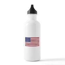 US - 51 Stars Flag Water Bottle