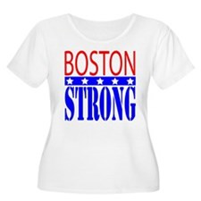 Boston Strong Tee Shirt Plus Size T-Shirt