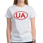 Ukraine - UA Oval Women's T-Shirt