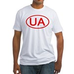 Ukraine - UA Oval Fitted T-Shirt