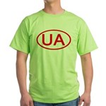 Ukraine - UA Oval Green T-Shirt