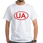Ukraine - UA Oval Premium White T-Shirt