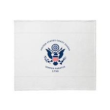 USCG Flag Throw Blanket