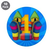 1st Birthday Children's Pin Badge (10 pack)