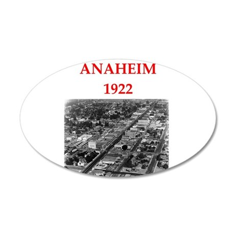 anaheim Wall Decal