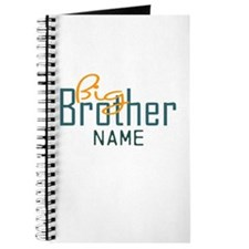 Personalized Add Name Big Brother Print Journal