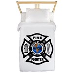 Firefighter Recycle Twin Duvet