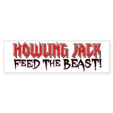 Feed The BEAST! Bumper Car Sticker