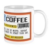 Coffee Prescription Small Mug